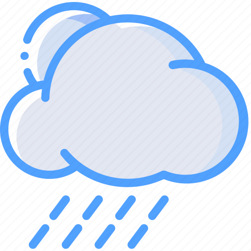 Cloud, rain, sun, weather icon - Download on Iconfinder