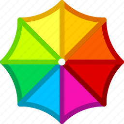 umbrella, weather icon