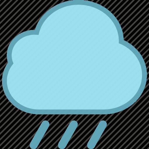 cloudy, forecast, rain, raining, rainy, weather icon