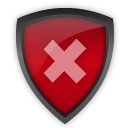 antivirus, decline, shiekld icon
