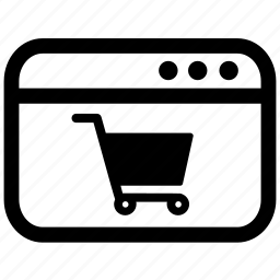 cart, online, order, purchase, shopping, store icon