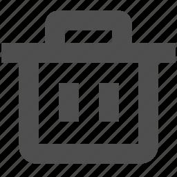 app, bin, delete, garbage, trash, web, website icon