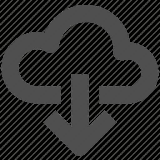 app, cloud, download, load, web, website icon