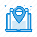 location, map, navigation, pin, website icon