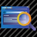 blog, find, list, online, search, web