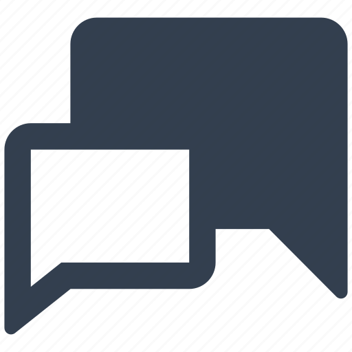 bubble, chat, comment, communication, dialog, internet, message, sign, speech, talk, web icon