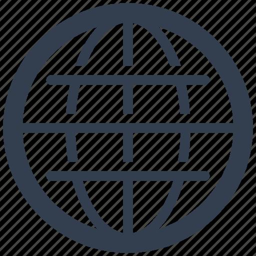 communication, global, globe, internet, map, planet, seo, web, world icon
