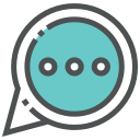 chat, email, forum, letter, mail, message, talk icon
