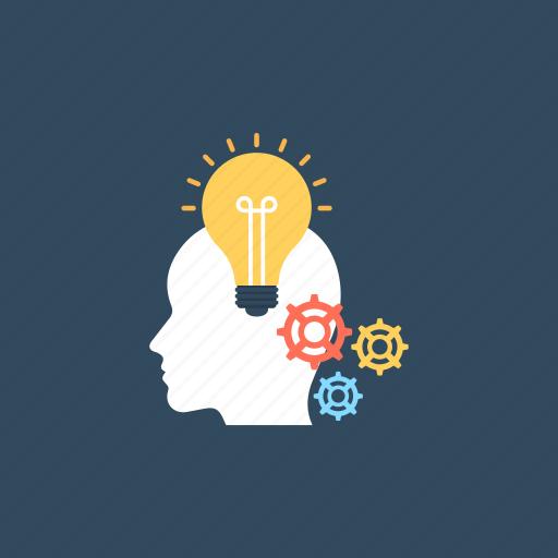 creative design, creative development, creative idea, design process, inspiration and planning icon