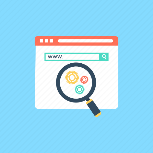 advance seo, advanced search, search optimization, website development, website promotion icon