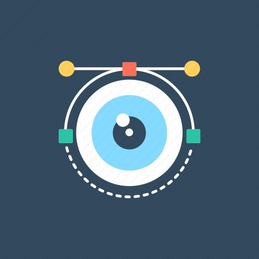 graphics, image, vision, visual image, visualization icon