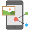 digital marketing, marketing strategy, photo sharing, social media sharing, social network advertisement icon