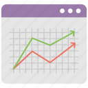 analytics, infographics, line chart, trending chart, trending up icon