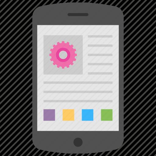 api interface, application software, mobile app development, mobile apps, mobile programming icon