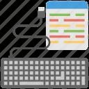coding, coding script, php, programming, web development icon