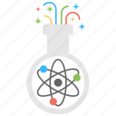chemical, conical flask, flask, laboratory, research