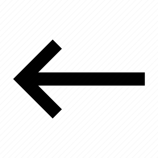 arrow, arrows, button, interface, left, symbol back, ui icon