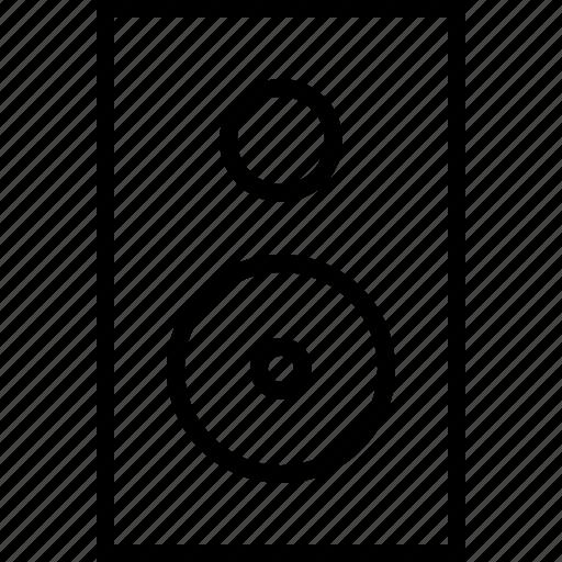 audio, loudspeaker, music, sound, speaker, volume icon