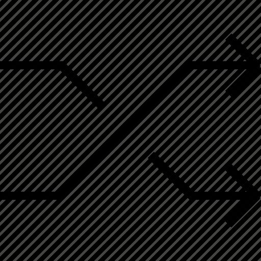 arrow, arrows, audio, media icon