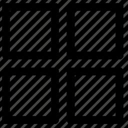 grid, table icon