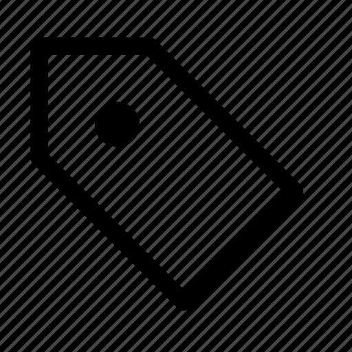 keyword, label icon