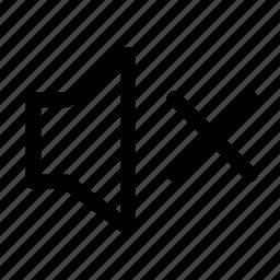 minus, sound icon