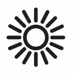 apollo, sun icon