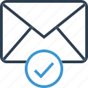 approved, email, good, mail icon