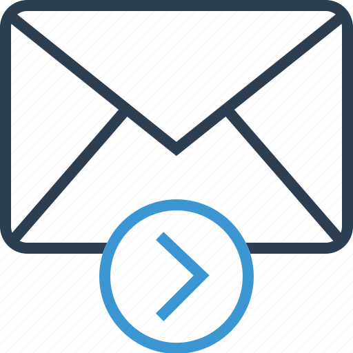 Arrow, email, forward, right icon - Download on Iconfinder