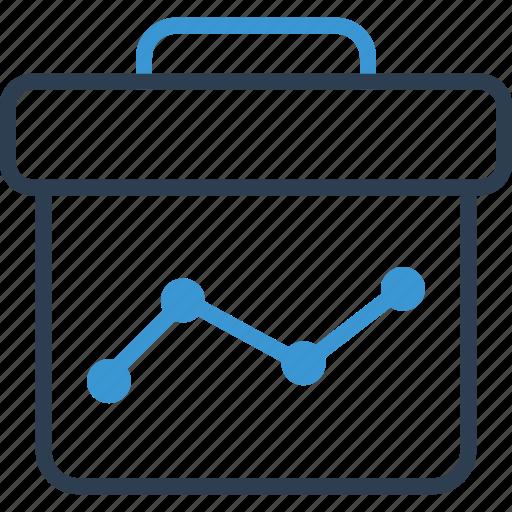 briefcase, online, share icon