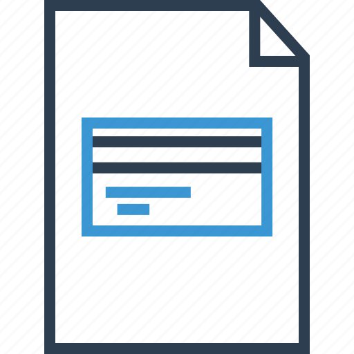 card, credit, online, payment icon