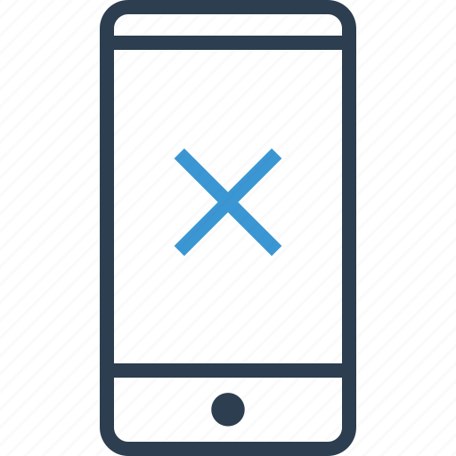 call, cross, denied, stop icon
