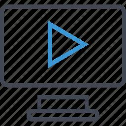 music, play, seo, video icon