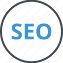 engine, search, seo, web icon