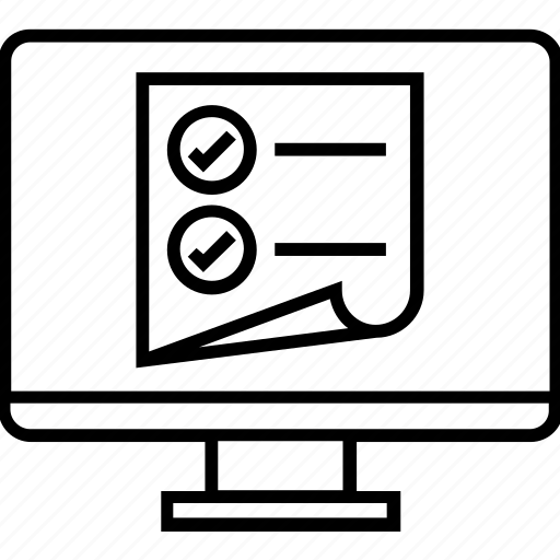 html, ol, order list, ul, web design icon