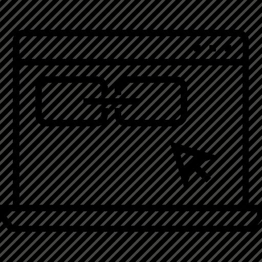 chain link, link, link building, optimization, weblinks optimization icon