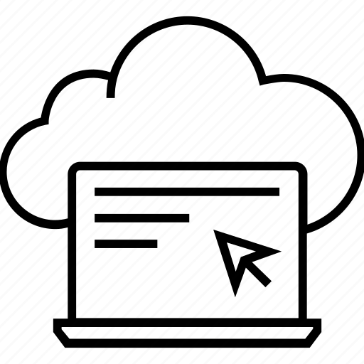 cloud, cloud computing, computing, network, technology icon