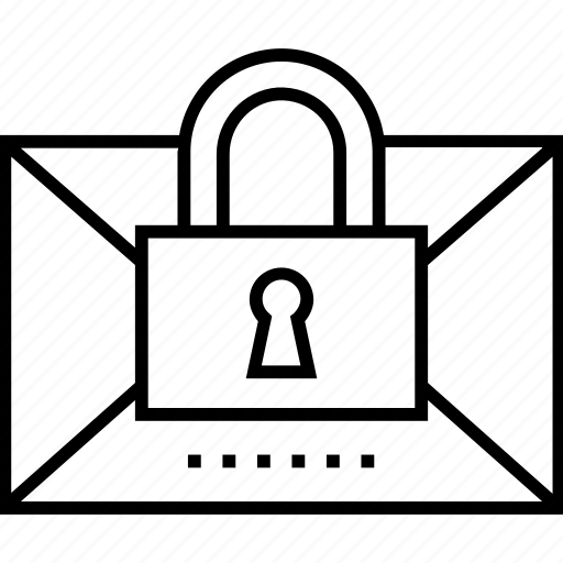 email, email encryption, encryption, mail encryption, padlock icon