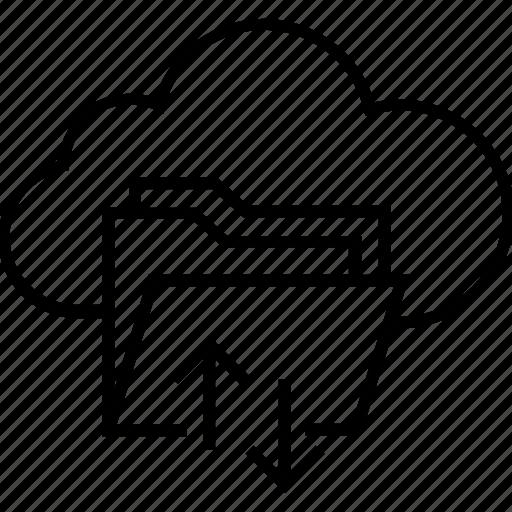 cloud data, data, download, file, upload icon