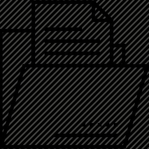 data, data folder, documents, folder, storage icon