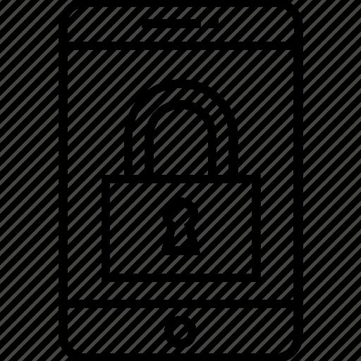 access, encryption, lock, padlock, protection icon