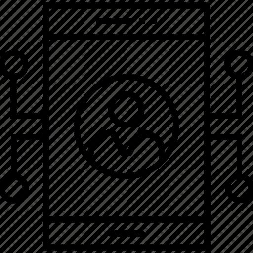 development, mobile, programming, user, ux development icon