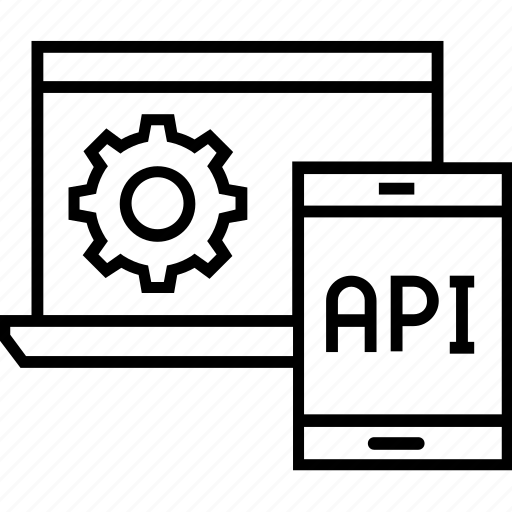 api, api interface, code, interface, program icon