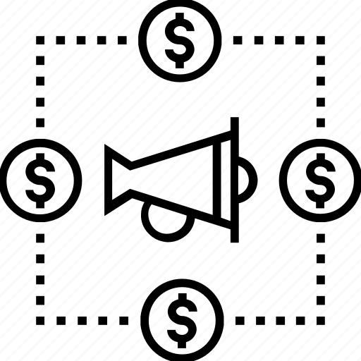 bullhorn, marketing, viral, viral marketing icon