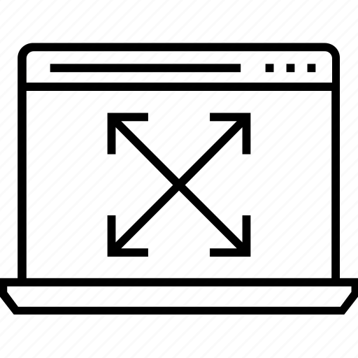 adaptive, development, interface, ui, ux icon