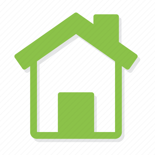 home, house, link icon