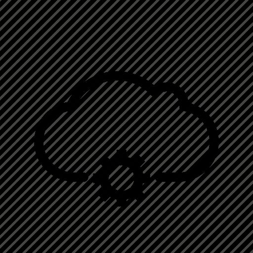 cloud, marketing, seo, setting, site, storage, web icon