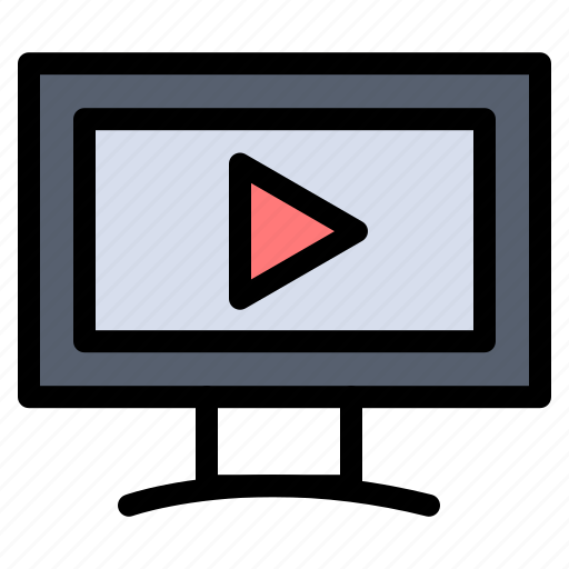 Monitor, screen, video icon - Download on Iconfinder