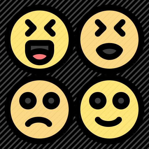 Emojis, happy, sad icon - Download on Iconfinder