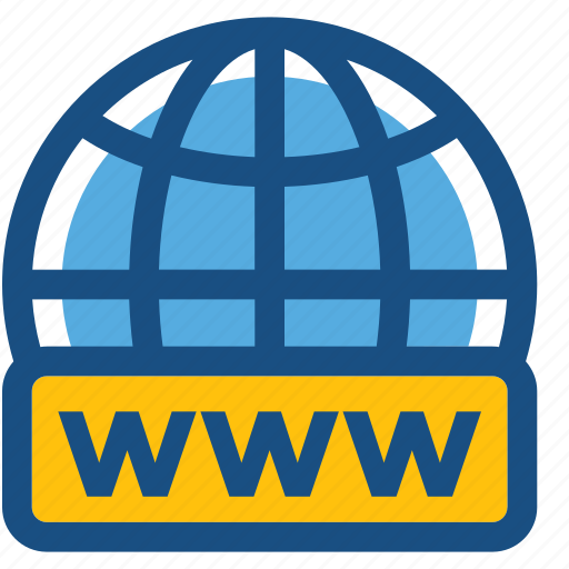internet, web screen, webpage, website domain, www icon